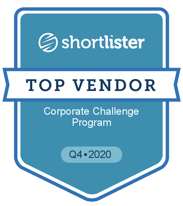 shortlisher TOP VENDOR Corporate Challenge Program